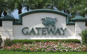 Gateway Fort Myers, FL Entrance Sign